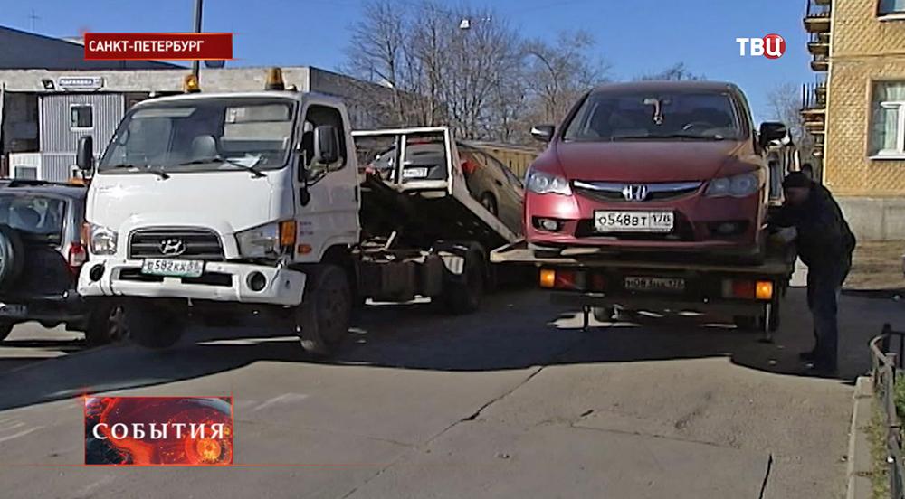 Служба эвакуации в Санкт-Питербурге