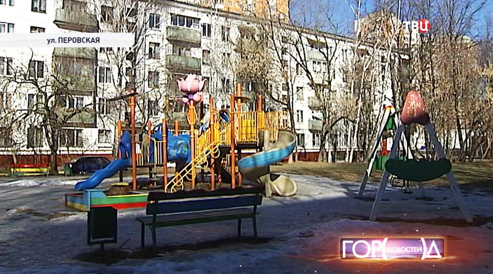 Дом на Перовской улице, где был найден младенец