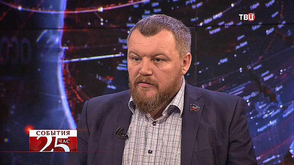 Андрей Пургин, председатель народного совета Донецкой Народной Республики