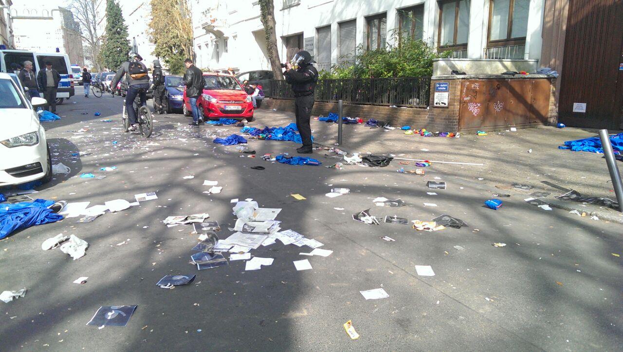 Последствия беспорядков во Франкфурте-на-Майне