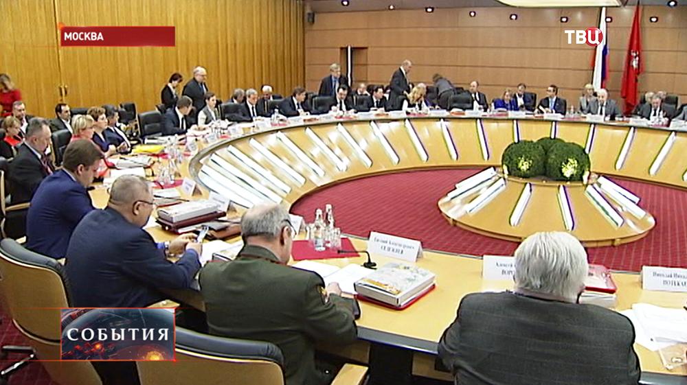 Заседание столичного комитета по организации празднования Дня Победы