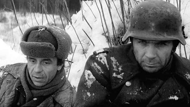 """Владимир Заманский, кадр из фильма """"Проверка на дорогах"""""""