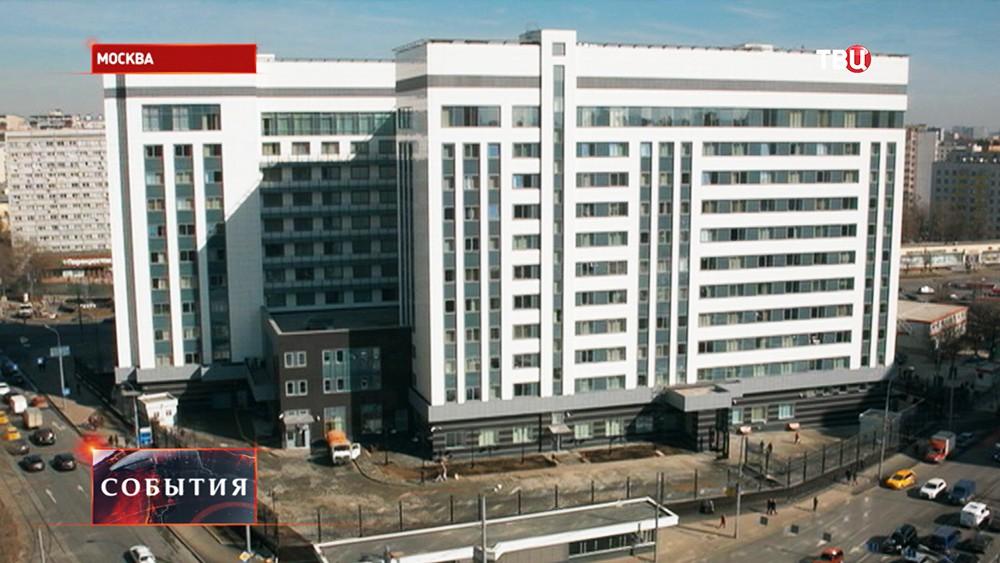 Новое здание московской прокуратуры