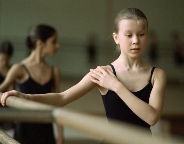 Ученицы Московской государственной академии хореографии