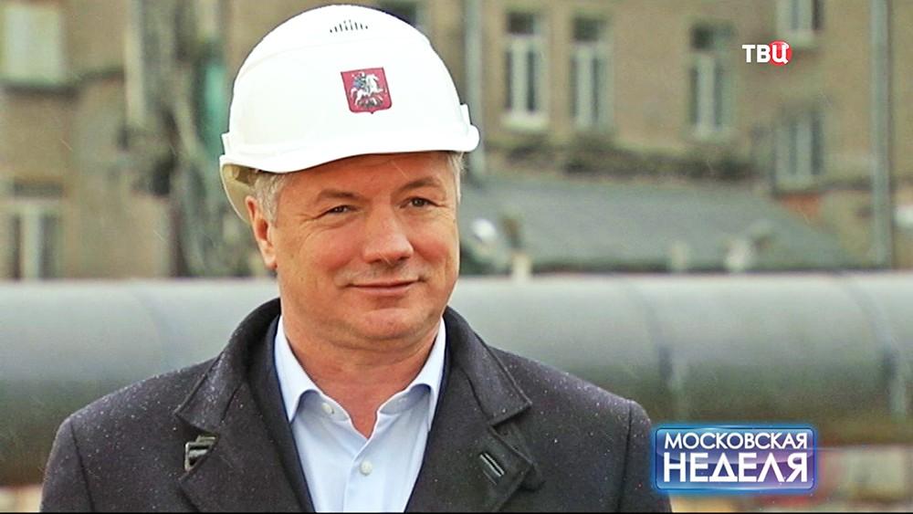 Заместитель мэра Москвы по вопросам градостроительной политики Марат Хуснуллин