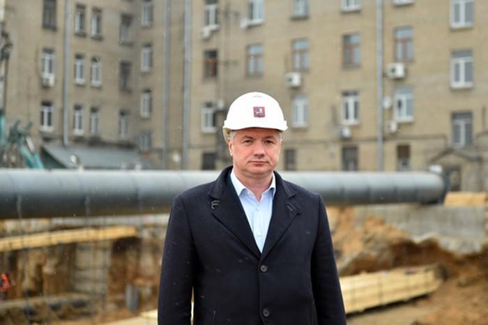 Заммэра столицы по вопросам градостроительной политики Марат Хуснуллин