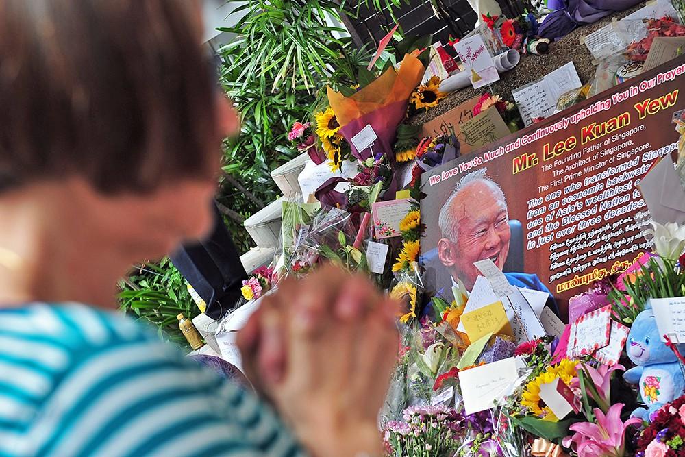 Прощание с премьер-министром Сингапура Ли Куан Ю