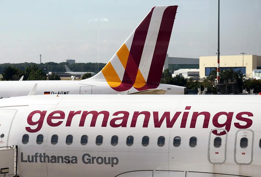 Самолеты авиакомпании Germanwings