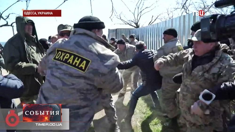 Рейдерский захват в Одессе