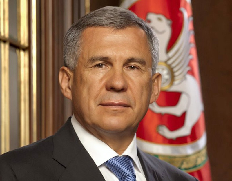 Президент Татарстана Рустам Минниханов