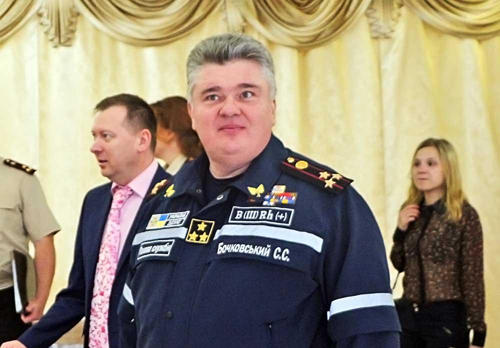 Министр по чрезвычайным ситуациям Украины Сергей Бочковский