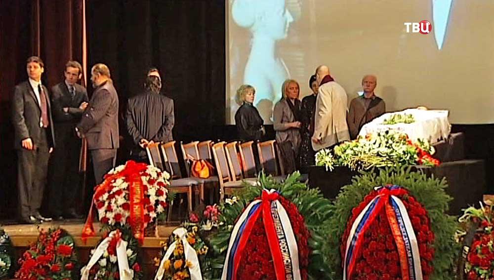 Церемония прощания с Аркадием Аркановым