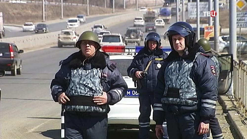 Усиление полиции