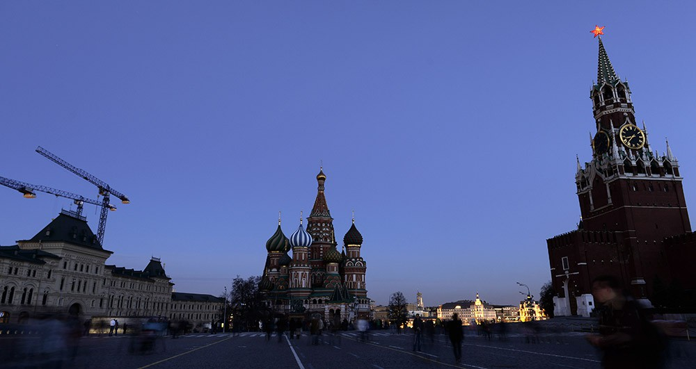 """""""Час Земли"""" на Красной площади"""