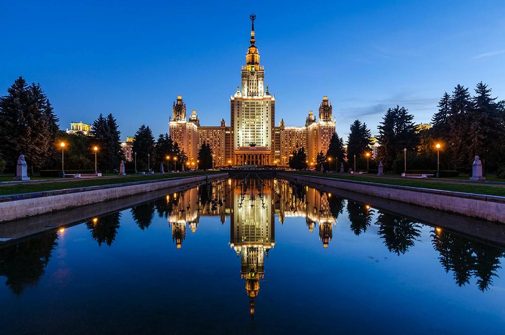 здание МГУ на Воробьёвых горах
