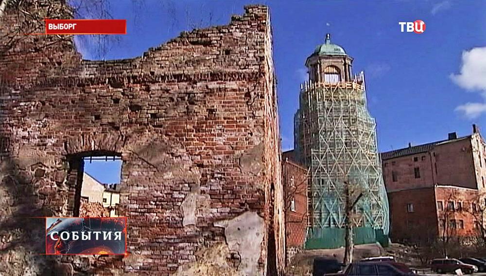Руины в Выборге