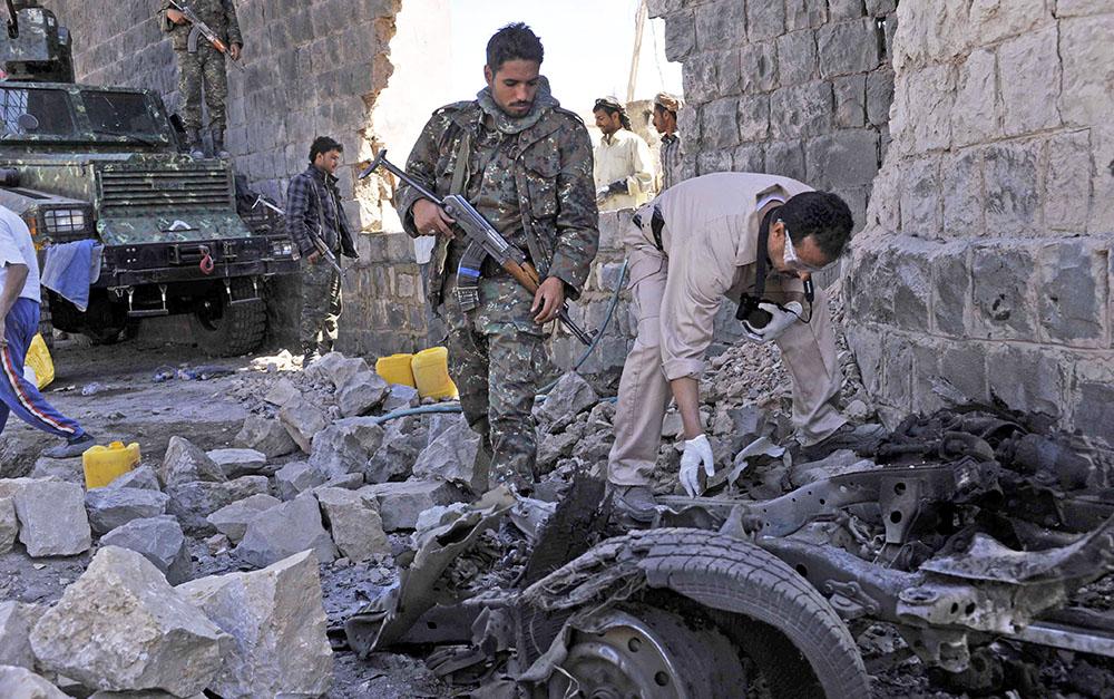 Последствия военных действий в Йемене