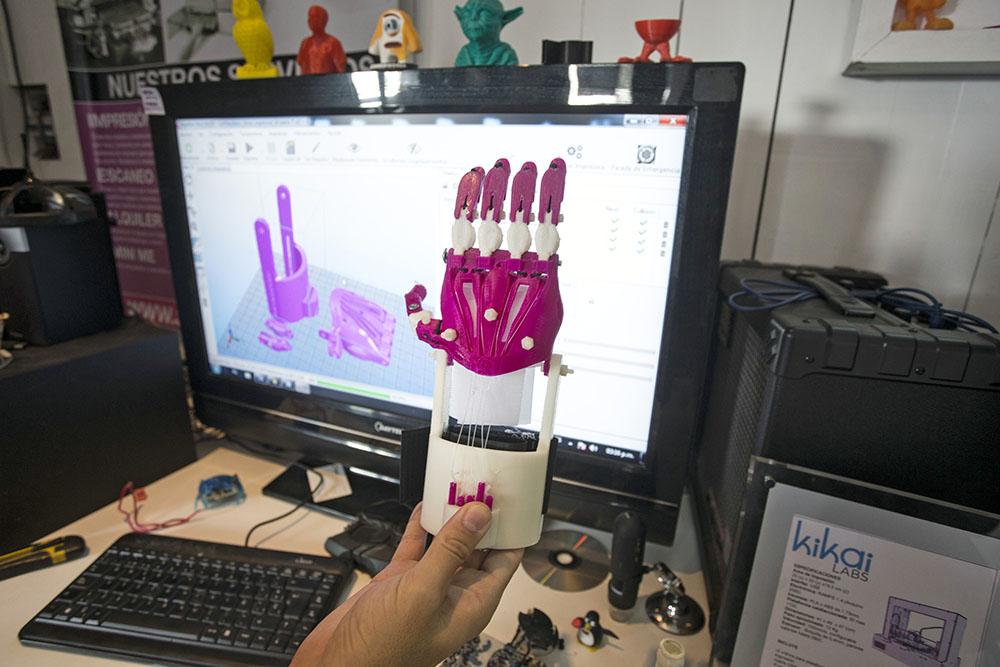 Напечатанный 3D-протез