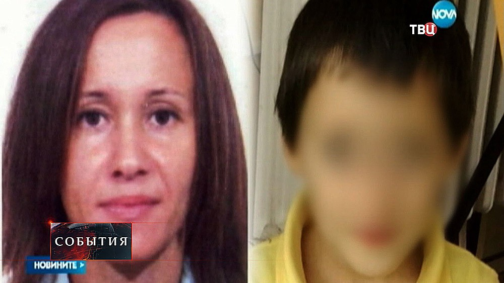 Анна Леонтьева и ее сын Никита Леонтьев