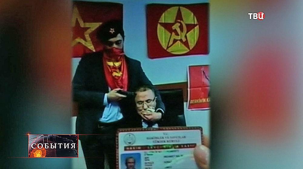 Прокурор Стамбула Селим Кираз в плену у заложника