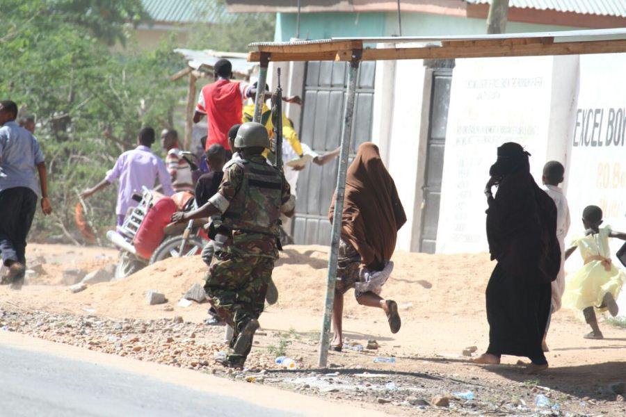 Атака на университет в Кении