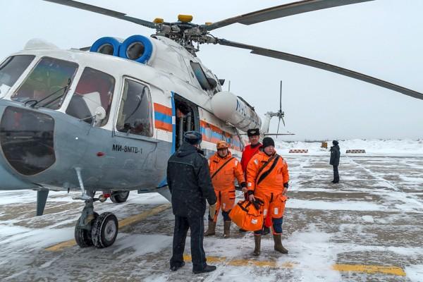 Вертолёт МЧС России