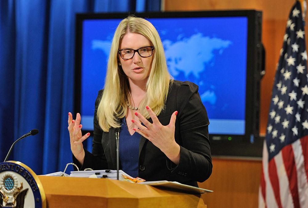 Пресс-секретарь госдепартамента США Мари Харф