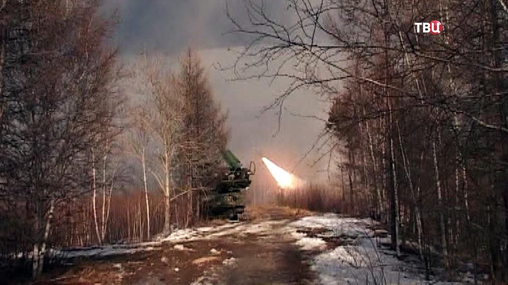 Учения российских ПВО