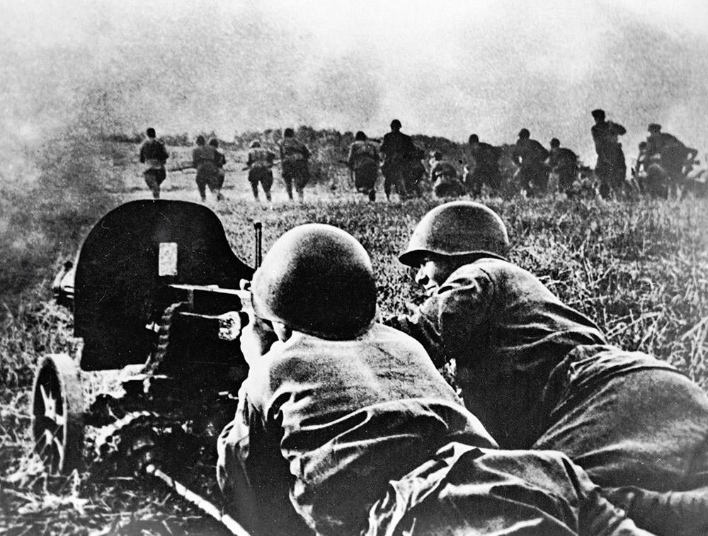 Бои под Минском. 2-й Белорусский фронт. Великая Отечественная война