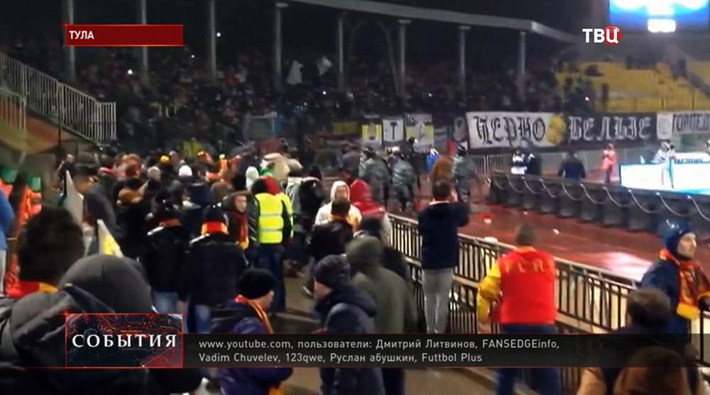 Беспорядки в Туле