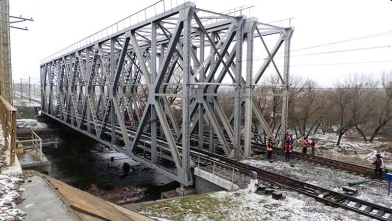 На месте подрыва железной дороги под Харьковом
