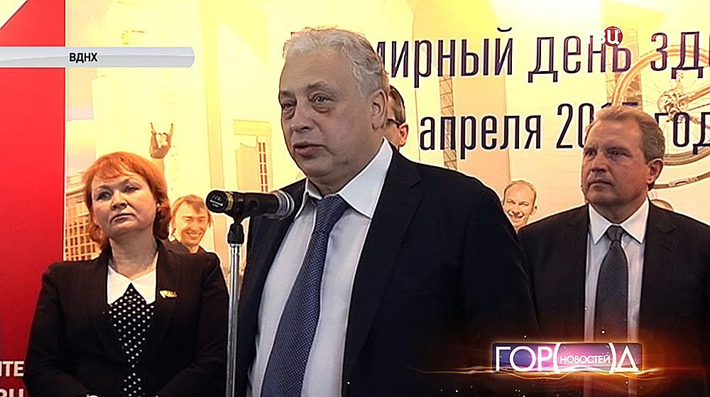Заместитель мэра Москвы в правительстве Москвы по вопросам социального развития Леонид Печатников
