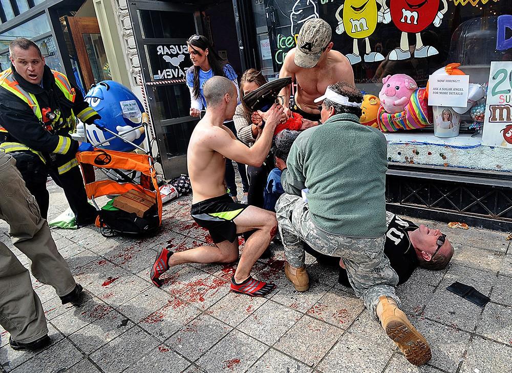 Пострадавшие во время терака в Бостоне