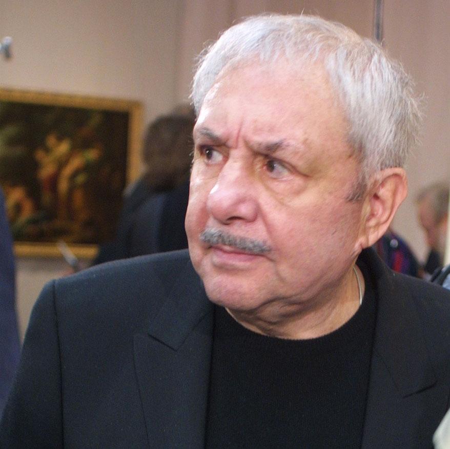 Скульптор Эрнст Неизвестный отмечает 90-летний юбилей