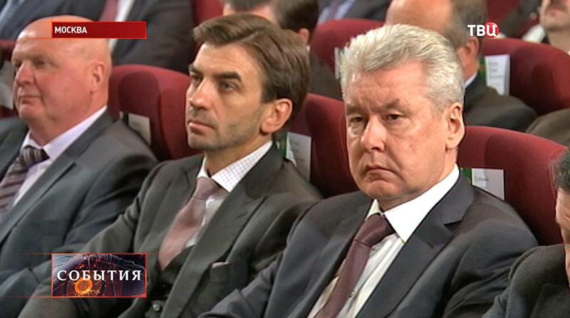 Сергей Собянин на заседании расширенной коллегии Минфина