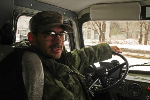 "Репортер телеканала ""Звезда"" Андрей Лунев"