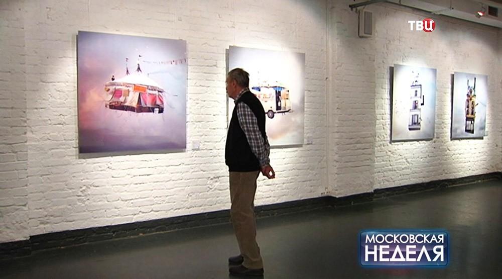 """Выставка Лорана Шеера """"Летающие дома"""""""