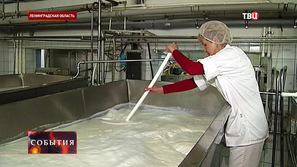 Работа молочной фермы