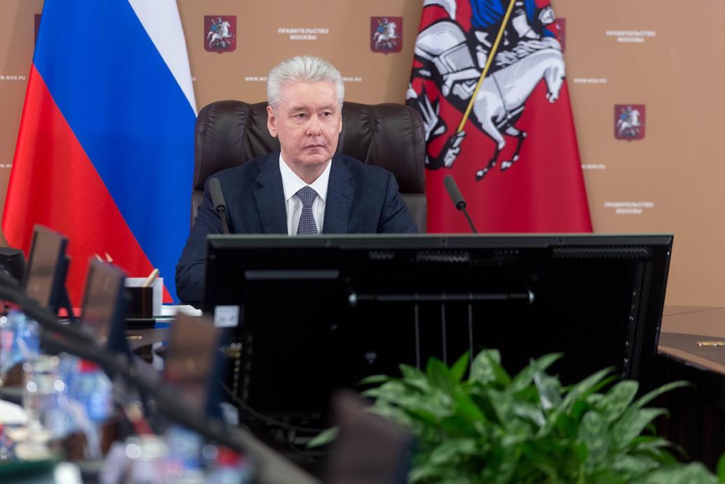 Сергей Собянин сообщил о создании запаса противовирусных лекарств