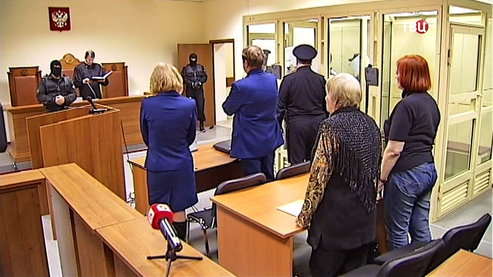 Суд над участниками националистической группировки БОРН