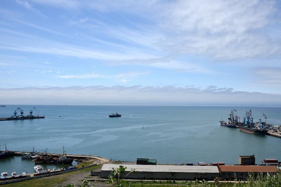 Порт Корсаков на Сахалине