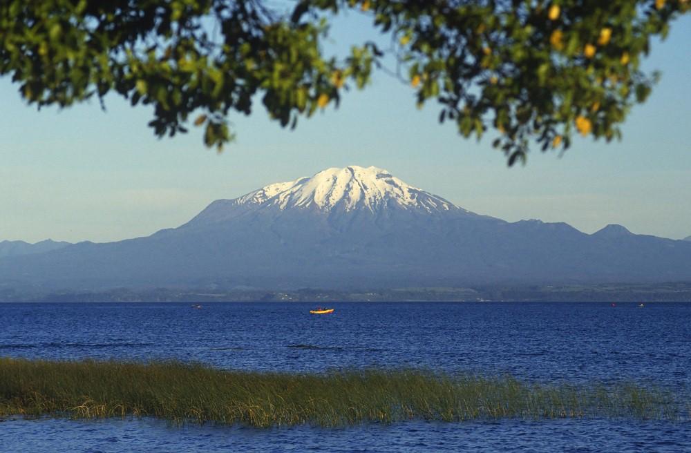 Вулкан Калбуко в Чили