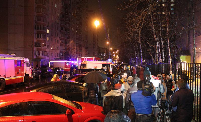 Пожар в общежитии Российского национального исследовательского медицинского университета (РНИМУ) им.Пирогова