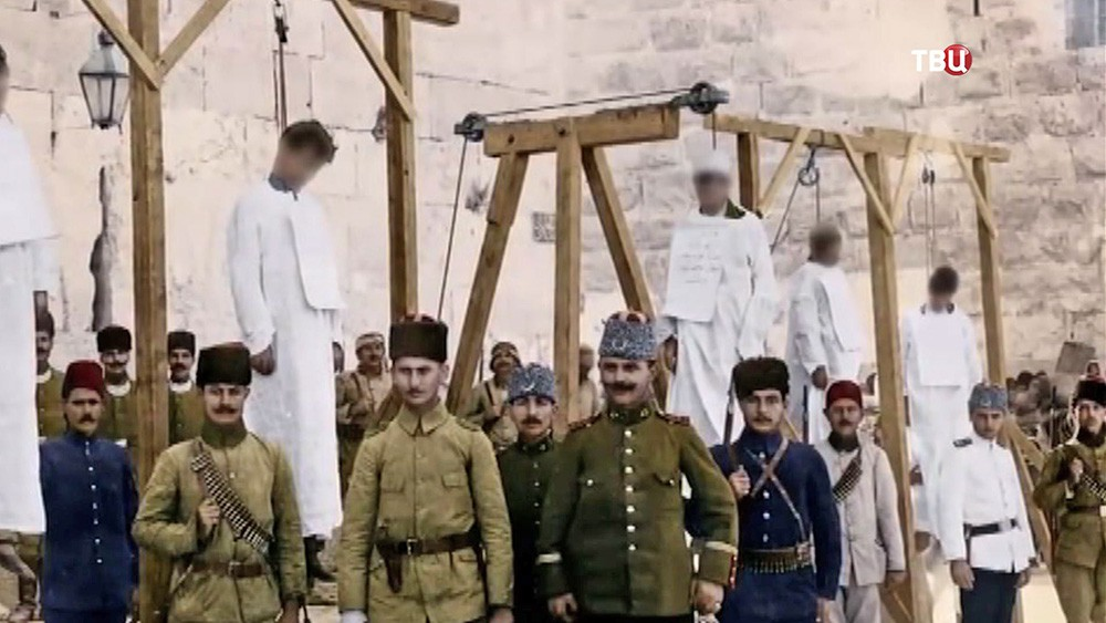 Жертвы геноцида армян в Османской империи