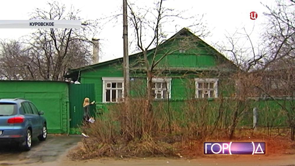 Старый дом ветерана