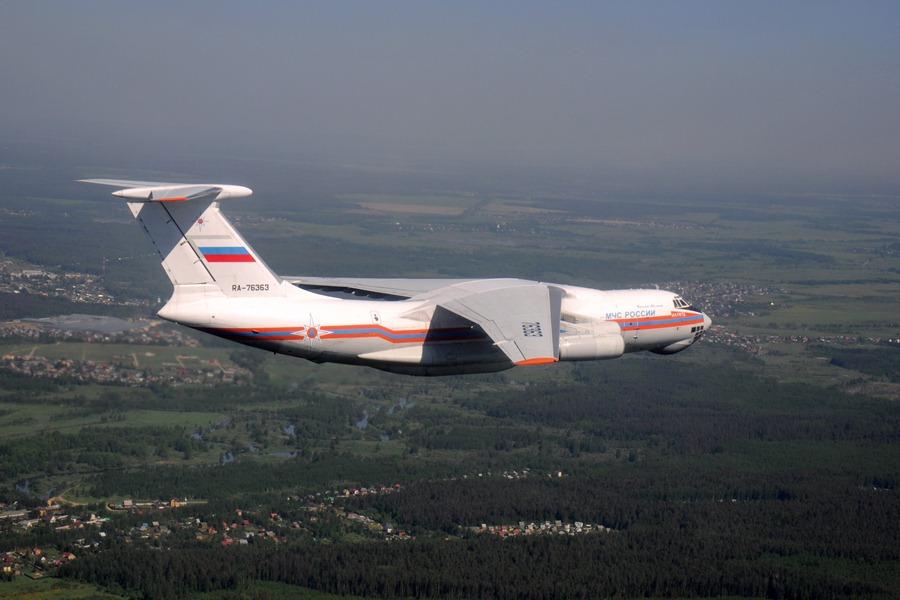 Ил-76 МЧС России