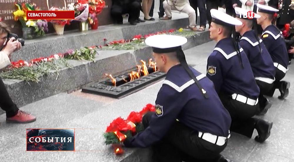 На Сапун-горе в Севастополе почтили память павших в боях