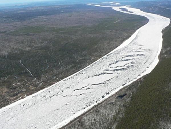 Ледоход в Якутии