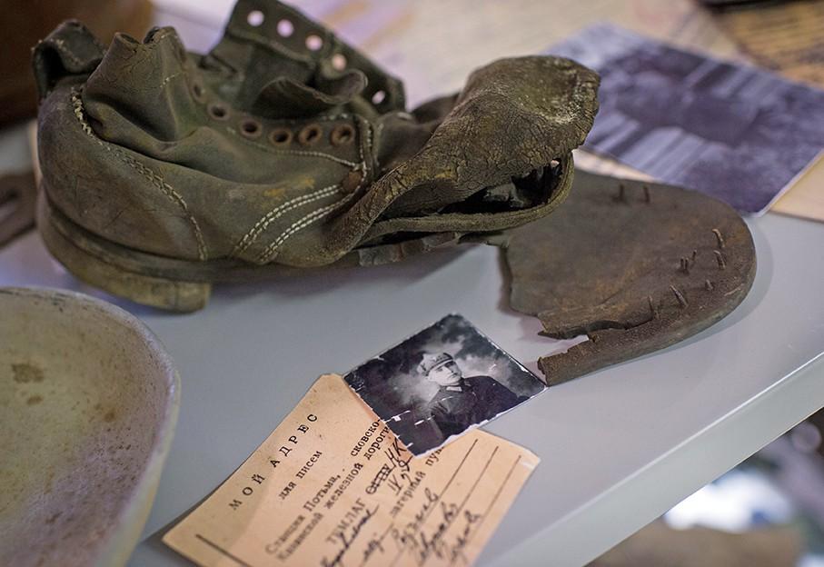 Экспозиция Государственного музея истории ГУЛАГа