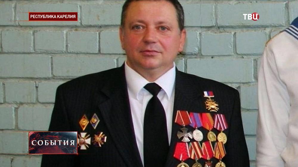 Заместитель директора Петрозаводского речного училища Олег Семёнов